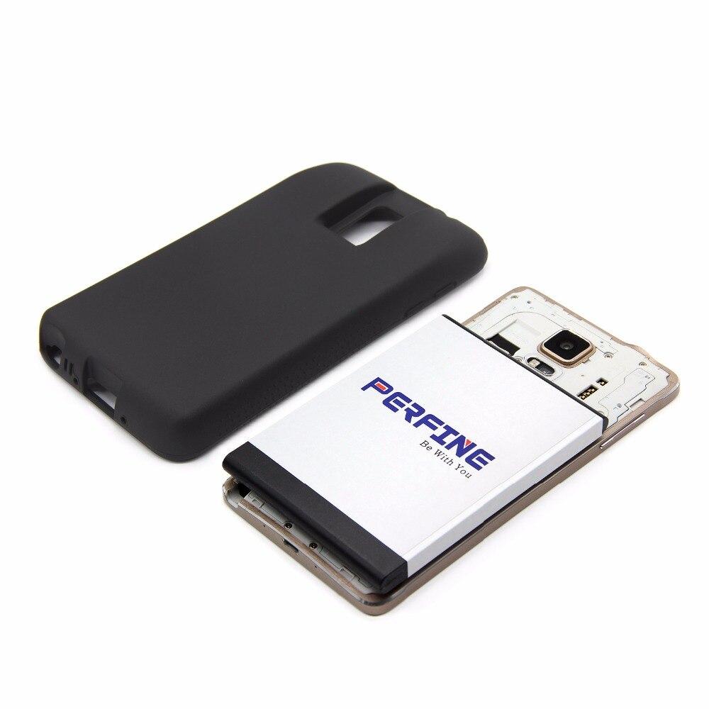 N9100 EB-BN916BBC batería extendida + negro caso para Samsung Galaxy Note 4 Duos N9106W N9108V N9109V 9600 mAh Doble SIM versión