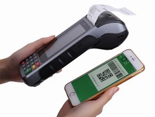 Android Mobile Pda Robusto Terminale Pos Nfc/Ic Card Reader Scanner di Codici a Barre con Built-in Stampante di Ricevute Lettore Rfid(China)