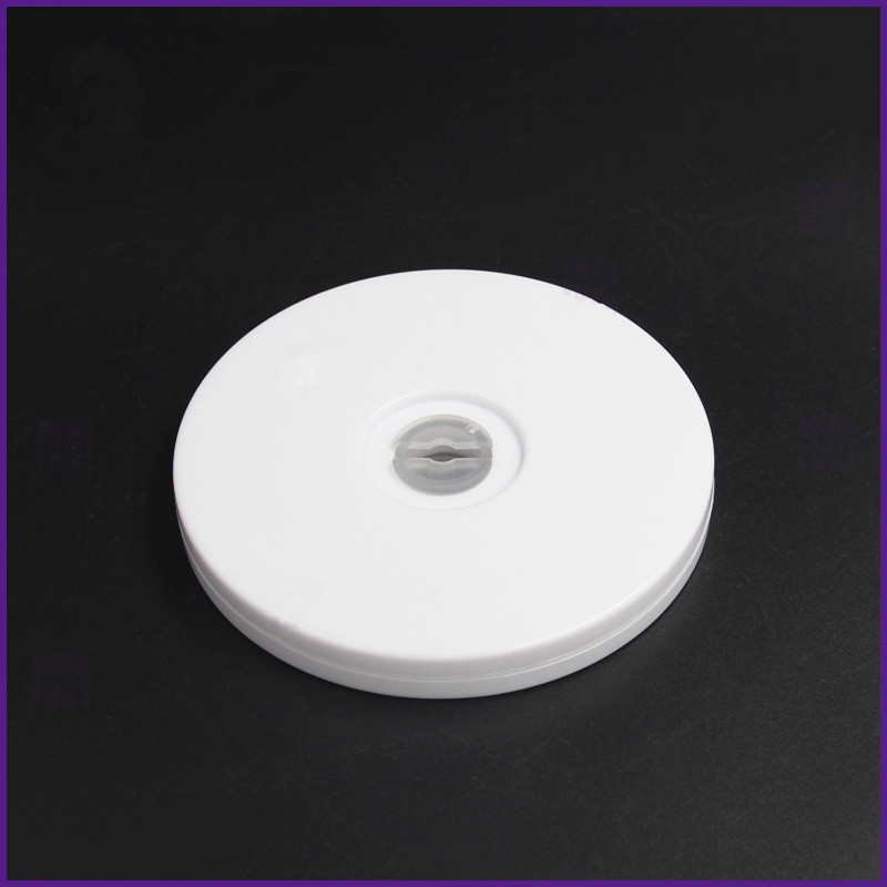 4 Inch White Acrylic Turntable Display Turntable Furniture Fittings Rack Rotary Base Lazy Susan Turntable