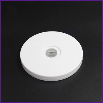 4 inch white acrylic turntable display turntable furniture fittings rack rotary base Lazy Susan turntable 1pc 24 inches 58cm big aluminium alloy swivel plate for kitchen furniture lazy susan turntable dining table
