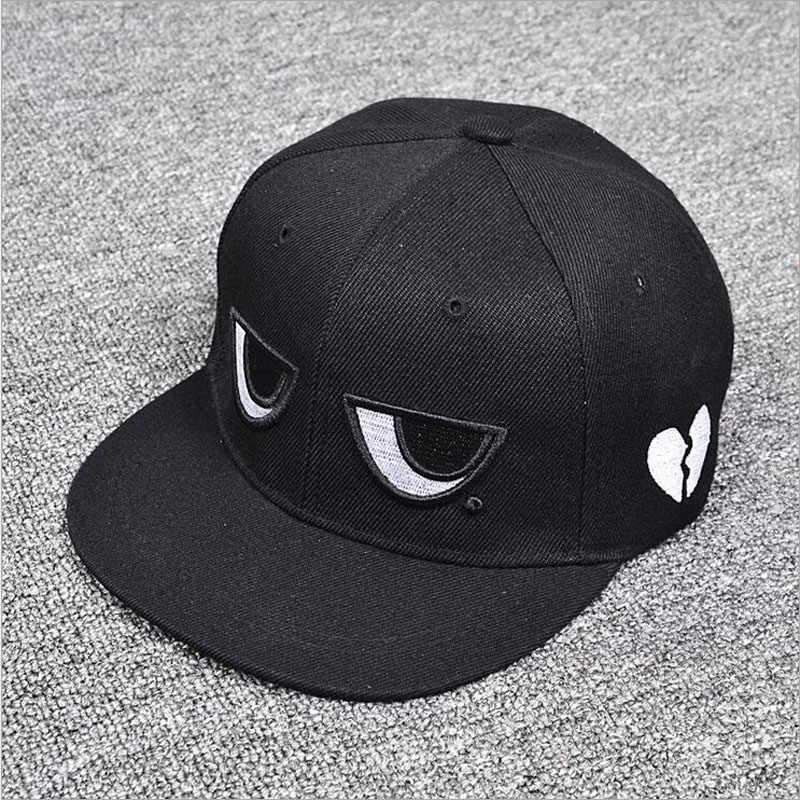 2018 New Fashion Embroidery Eyes Cute Kids Snapback Baseball Caps Children  Sun Hats adult Kids Parenting f0f23ae1f38f