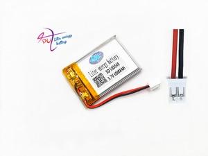 Image 1 - JST PH 2,0mm 2pin 503040 3,7 V 600 mAh batterie Lithium Polymer Akku Für Mp3 DVD Kamera GPS bluetooth elektronik