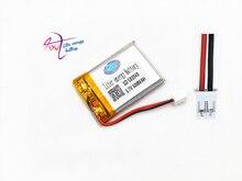 Jst ph 2.0mm 2pin 503040 3.7 v 600 mah 배터리 리튬 폴리머 충전식 배터리 mp3 dvd 카메라 gps 블루투스 전자