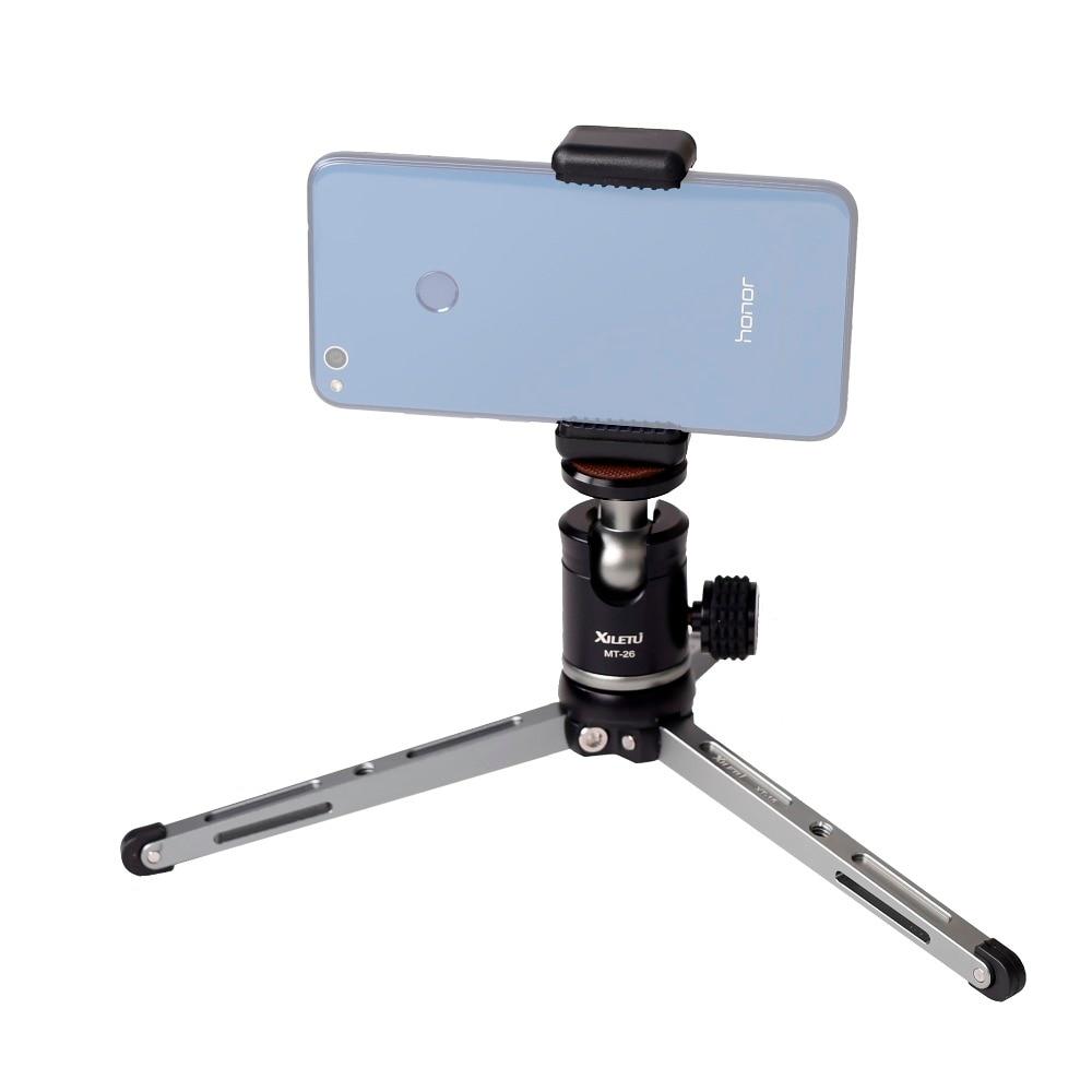 XILETU MT26 + XT15 Soporte de escritorio de alto cojinete Mini - Cámara y foto - foto 3