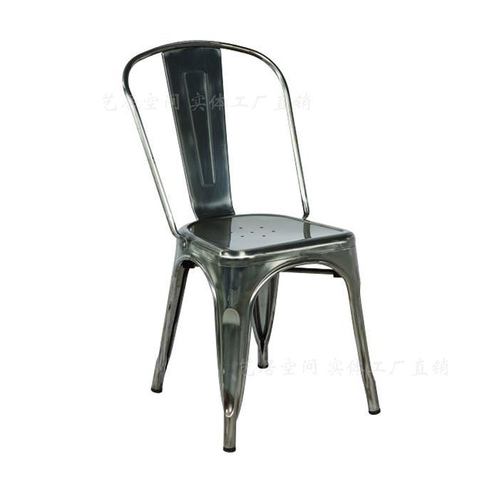 Dining Chair Backrest Casual Restaurant Retro Metal Chairs Loft European  Creative Industries Chair Steel Chair Ikea Chair In Shampoo Chairs From  Furniture ...