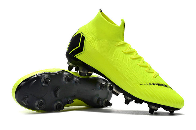 299dc396041e Release ZUSA Superfly VI Elite SG ACC Football Boots Mens Soft Ground  Soccer Shoes Cleats with extra screws LATCH