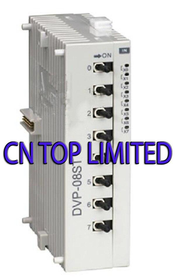 DVP08ST11N DC24V PLC 8DI Module new in original original simatic s7 1200 6es7223 1bh32 0xb0 digital i o 8di 8do 8di dc 24 v plc module 6es7 223 1bh32 0xb0 6es72231bh320xb0