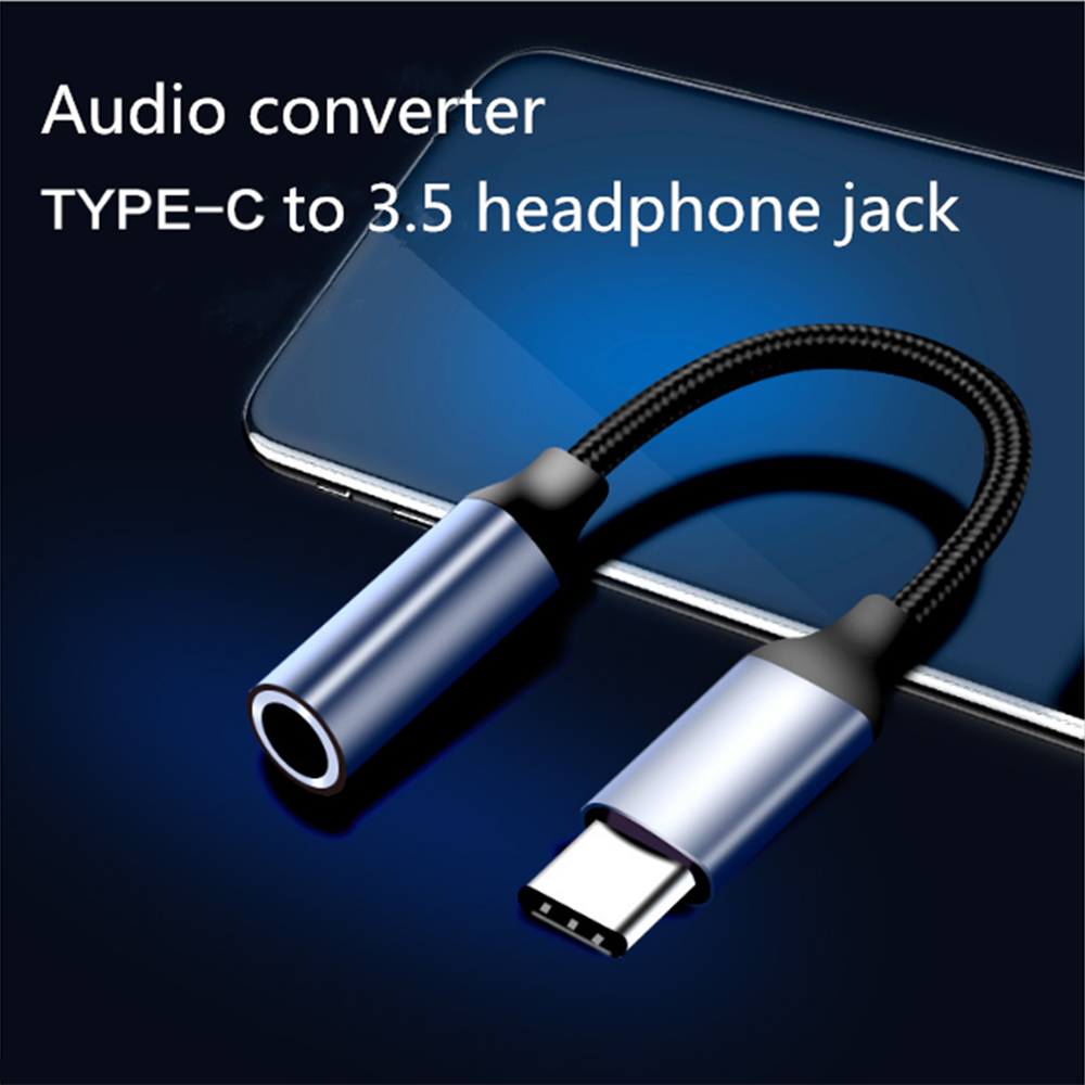 Latest Collection Of Type C To 3.5mm Jack Earphone Usb C To 3.5mm Aux Headphones Adapter For Xiaomi Mi 6 8 9 Se Huawei Mate 20 P30 Pro Audio Cable Accessories & Parts Consumer Electronics
