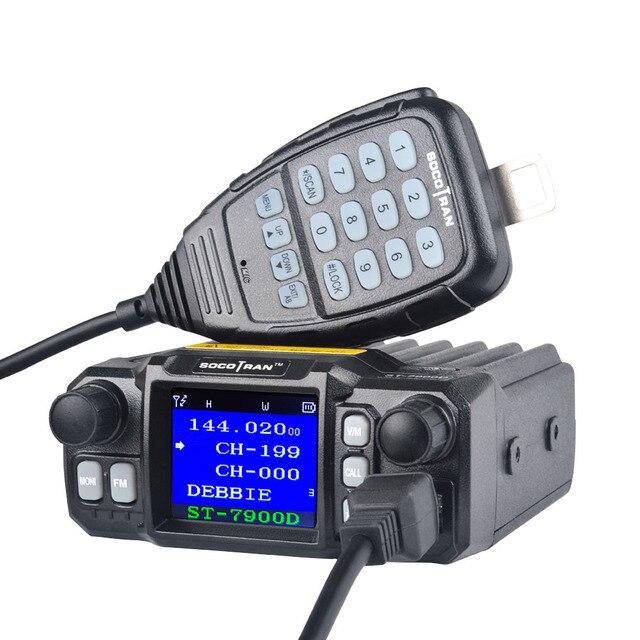 W moskwie samochód mobilny Walkie Talkie amatorski Ham Radio pojazd Transceiver 136/220/350/440MHZ 4 zespoły UHF VHF mobilne radia samochodowe