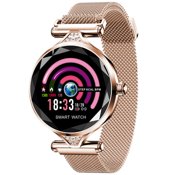 fashion H1 smart watch ladies watch physiological period heart rate sleep blood pressure monitoring IP67 sports smartwatchs