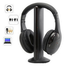 5 en 1 Hi-Fi Gaming musique filaire casque stéréo casque Audio écouteur léger grand casque antibruit pour PC ordinateur portable TV Radio MP3 # G4(China)