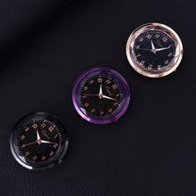 Автомобиль арабские цифры Круглый циферблат кварцевых часов часы авто автомобиль Интерьер Декор