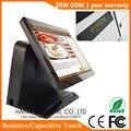 Haina Touch 15 pulgadas pantalla táctil máquina de la posición para el supermercado con puerto paralelo