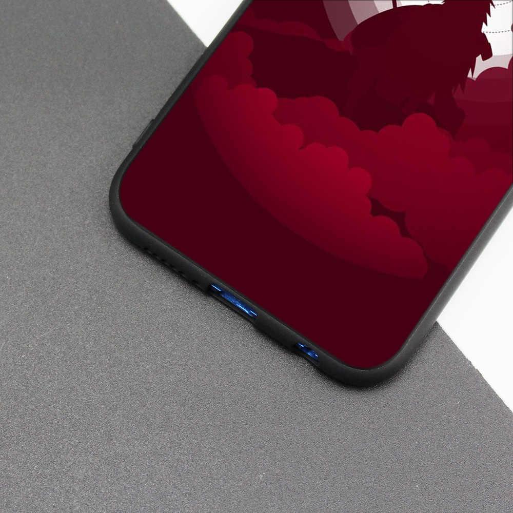 Cubierta de la caja de silicona para Huawei P20 P10 P9 P8 Lite Pro 2017 P inteligente + 2019 Nova 3i 3E teléfono fundas de dibujos animados de Japón Naruto Itachi kka