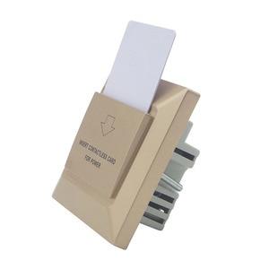 Image 4 - זהב צבע הצעה מיוחדת עבור Luxuty במוטל מלון משרד חיסכון באנרגיה מתג אורחים חדר מפתח כרטיס מחזיק T57 Temic 125 khz סוג