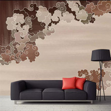 Creative wallpaper European clouds background wall professional custom mural photo
