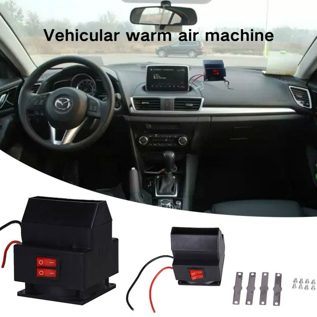 12v 150w Electric Warm Air Er Windshield Portable Auto Dryer Winter 2 In 1 Heater Defroster