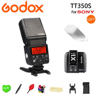 Godox Flash TT350 TT350S GN36 HSS TTL Camera Flash Speedlite for Sony A7 A6000 A6500 Cameras + X1T S Trigger Transmitter