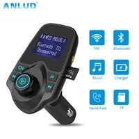 Wireless Bluetooth Fm Transmitter FM Modulator HandsFree Car Kit Radio Adapter USB Charger MP3 Music Player