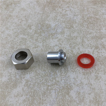 Homebrew Kegged Beer Tap Shank Quick Disconnect Adapter Convert for Draft Faucet Brewing