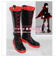 RWBY Cosplay Ruby Red Black Yellow Trainer Yang Weiss Shoes Boots customized
