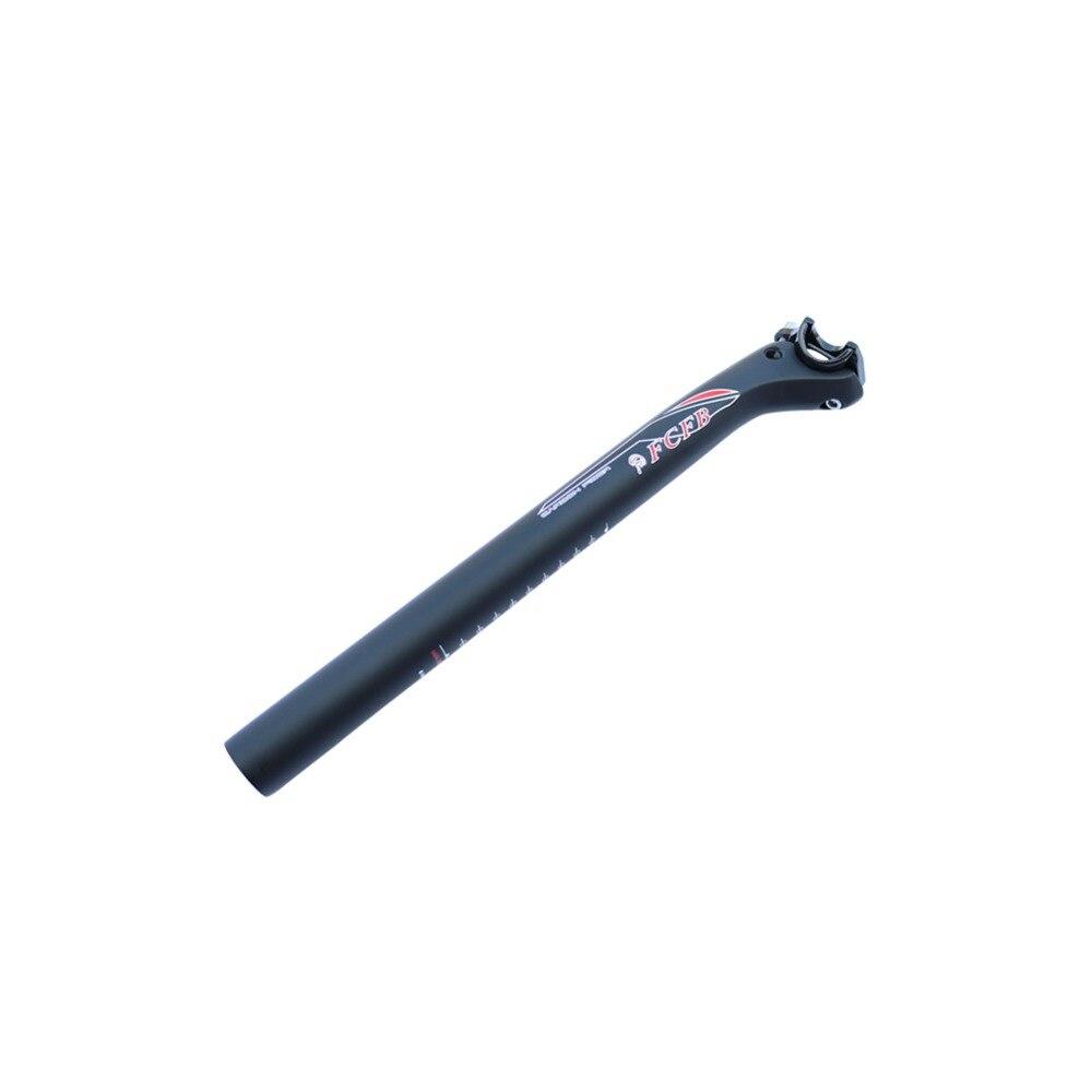 FCFB UD matt +glossy sticker mountain road bike carbon fiber aluminum head double nail seatpost / seatpost UD profile seat tube