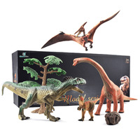 Simulated Solid Dinosaur Model Set Dinosaur Toys Gift Tyrannosaurus pterosaur Tricerosaur Stegosaurus Allosaurus Brachiosaurus