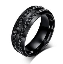 Detailed Dark Couple's Ring