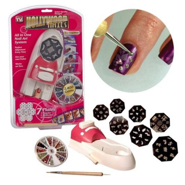 Hot Selling Hollywood Nails All In One Professional Nail Art System