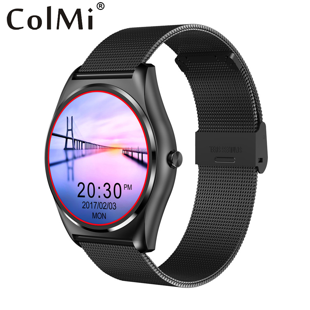 ColMi Smart Watch N3 Heart Rate Monitor Pedometer Push Message Remote Control Camera for Android IOS Phone Watch