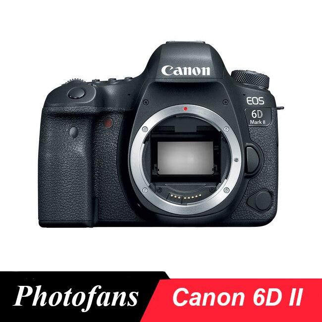 Canon EOS 6D Mark II Appareil Photo REFLEX NUMÉRIQUE (Boîtier Nu)