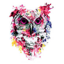 Digital Oil Painting Coloring By Numbers,DIY Hobby At Home,Painting Numbers Colorful Owl