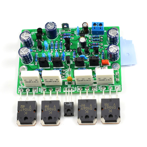 Image 3 - 2pcs Class AB MX50X2 Audio Power Amplifier DIY kit and Assembled board Base on Musical fidelity XA50 circuit F10 011