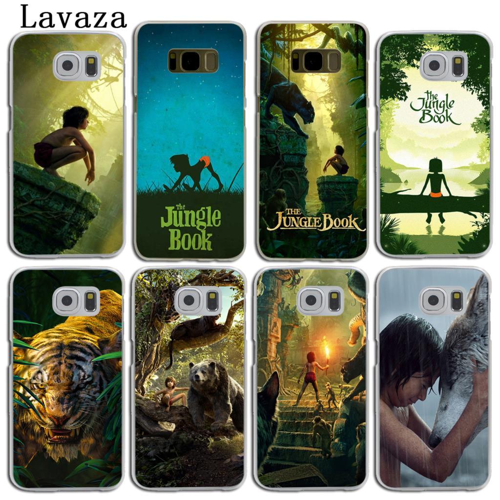 Lavaza The Jungle Book Hard Skin Phone Shell Case for Samsung Galaxy S7 S6 Edge S8 S9 Plus S3 S4 S5 & Mini S9 Cover