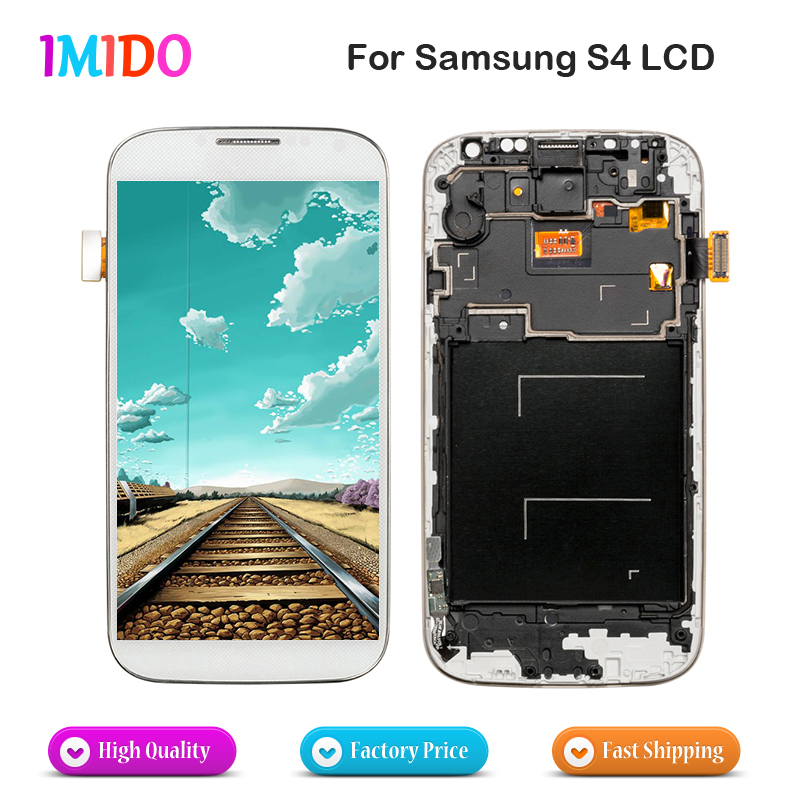 10Pcs LCD For Samsung Galaxy S4 i9500 i9505 i9515 i337 LCD Display Touch Screen Digitizer Screen