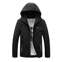2017 SPRING SUMMER NEW BRAND CLOTHING JACKETS MEN CASUAL HOODED STAND MEN JACKETS COATS YOUNG BUSINESS