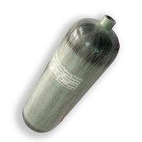 AC2680 6.8L 4500Psi Cilindro PCP de Alta Pressão Tanque De Ar Airsoft Armas Arma de Paintball Tanque De Mergulho Transporte da gota Acecare