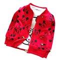 Мальчиков и девочка футболка мультфильм дети дети топы длинное пальто носить одежду одежду