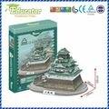 Бесплатный shipping3D Модель Головоломка Япония строительство Замка Осаки Бумаги Diy модель игры