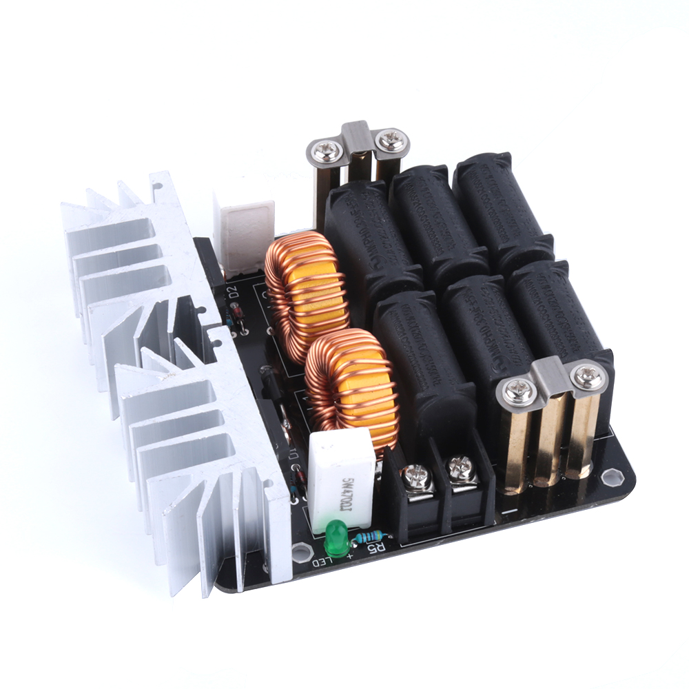 1000w Zvs Low Voltage Induction Heating Board Transformer Tesla Coil Driver On Heater Schematic Diagram