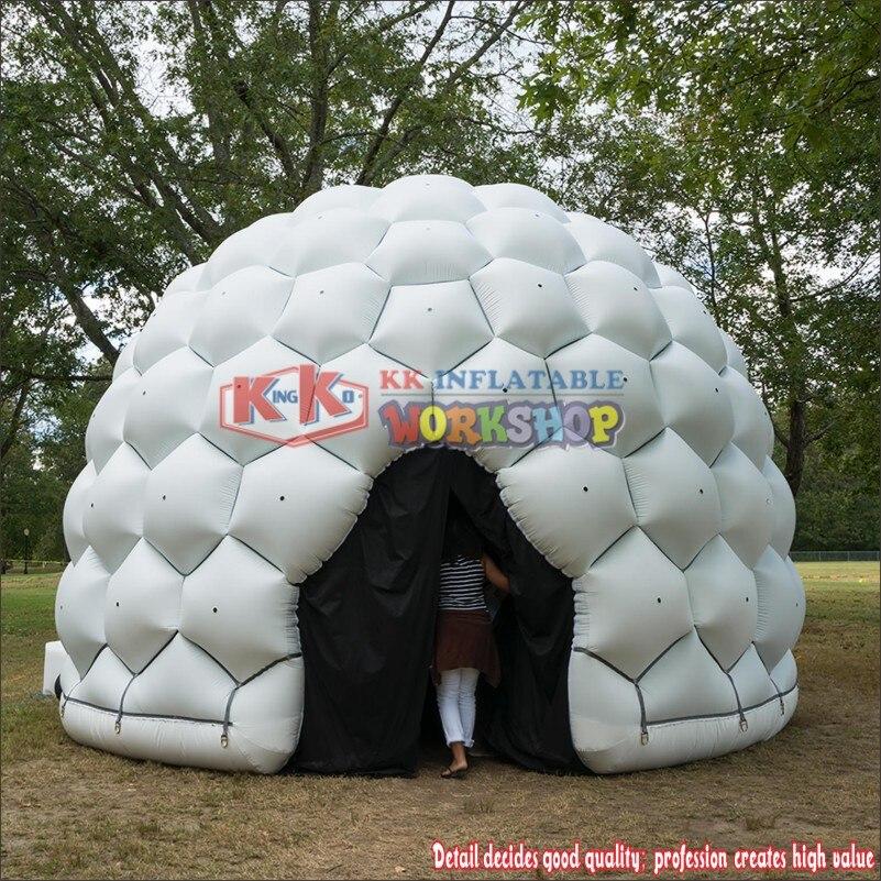 Надувные конструкции воздушного купола, Портативный надувные Экран палатки Igloo