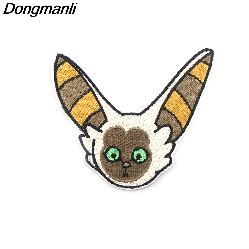 P3883 Dongmanli Avatar: The Last Airbender Embroidered Patches Anime Sew Iron on Applique Badge for Clothes T-shirt backpack