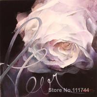 modern art painting on canvas Floer with the name Fleur hand painted Willem Haenraets artwork High quality