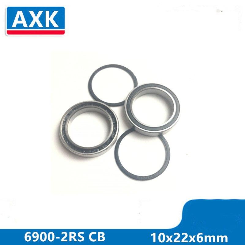 Axk 6900-2rs 6900 2rs 61900 Si3n4 híbrido cerámica rodamiento de bolas profundo 10x22x6mm 6900-2rs Cb abec-3