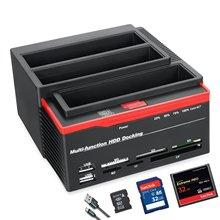 2,5 «/3,5» USB 3,0 до 2 SATA Порты 1 IDE/SATA Порты и разъёмы внешний жесткий диск на жестком диске док-станция для кард-ридер USB3.0 концентратор с ОТБ/OTC