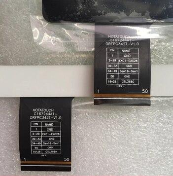 Novo original de 10.1 polegada tablet tela de toque capacitivo c167244A1-DRFPC342T-V1.0 frete grátis