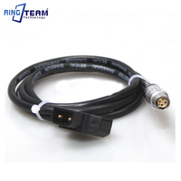 1M Red Shadow Camcorder Power Signal Cable RED EPIC LEMO FGJ 1B 306 (4 + 2), RED EPIC 12V DC power plugs D TAP B type Plug Turn