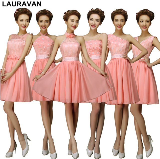 a659eed13c71 high fashion coral dress 2019 modest sweetheart watermelon bridesmaid girls  dresses for bridesmaids from china under 100