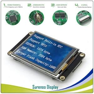 "Image 2 - 2.4 ""NX3224K024 Nextion משופר HMI USART UART סידורי Resistive מגע TFT LCD מודול לוח תצוגת Arduino פטל Pi"