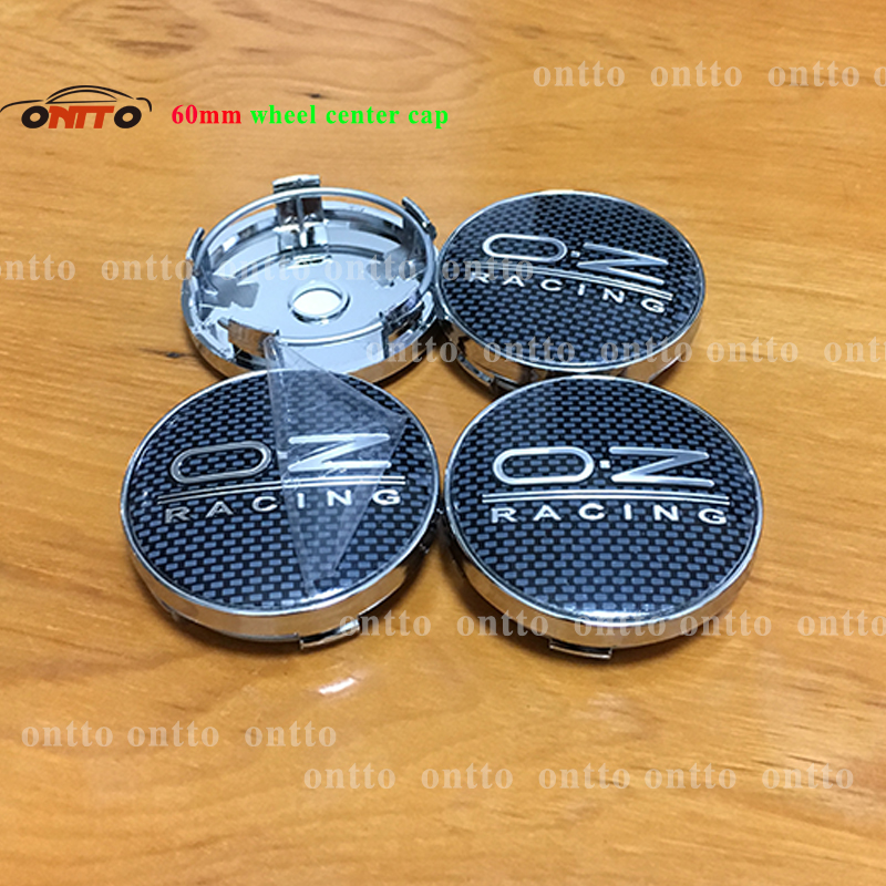 Image 4 - 4pcs oz racing 56mm 60mm O.Z OZ Sticker Wheel Center Hub Caps Wheel Dust proof emblem covers label for skoda audi v w toyota-in Wheel Center Caps from Automobiles & Motorcycles
